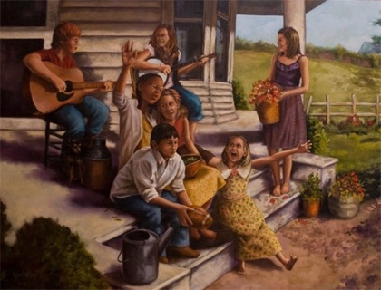 Porch Music 40x30jpg