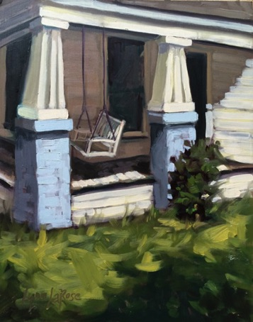 The Pastor's Porch (Maypearl, TX)  8x10